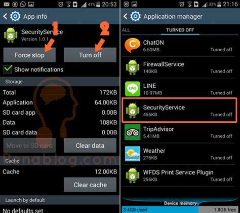 android stop service mencari penyebab aplikasi install sendiri di hp android dengan eset penablog