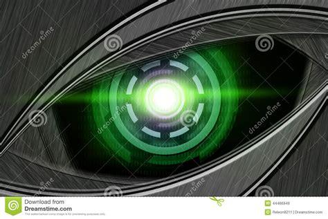 imagenes de ojos roboticos ojo abstracto del robot foto de archivo imagen 44466949
