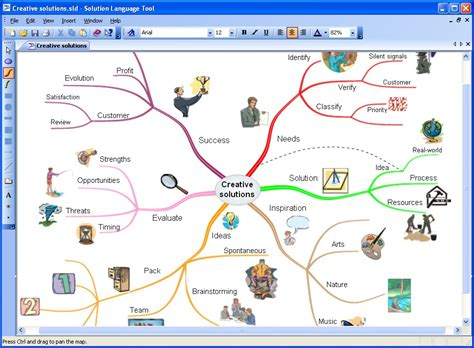 map program mind map software map3