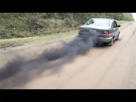 volkswagen diesel rolling coal diesel jetta rolling coal straight piped youtube