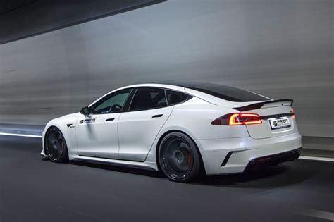 Tesla Model S Sport Prior Design Tesla Model S Elektro Limousine Extrem