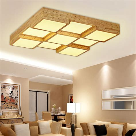 creative wood ceiling light modern ceiling design wood