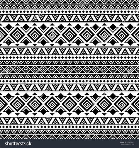 black and white aztec wallpaper black white aztec seamless pattern boho stock vector