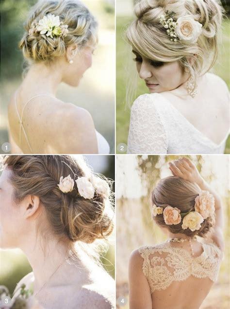 50 wedding hairstyles using flowers