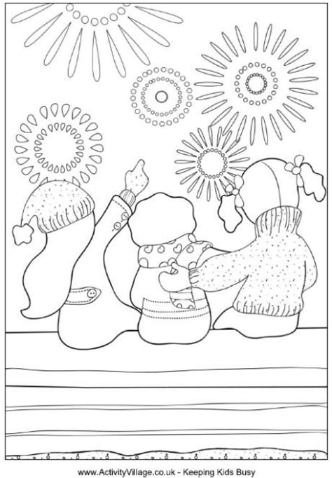 Bonfire Night Colouring Pages And Bonfires On Pinterest Bonfire Colouring Pages