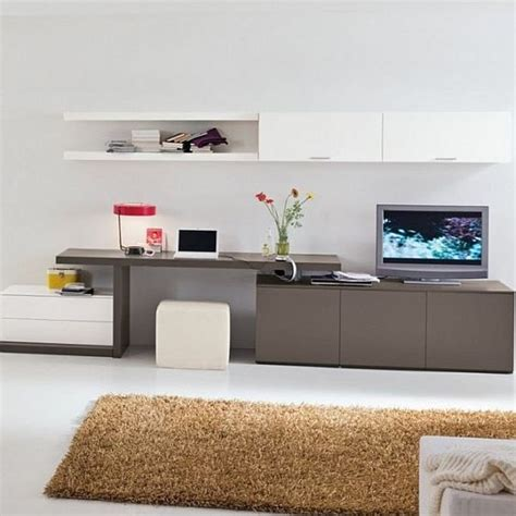 living room tv cabinet combination practical style combination of tv console work space and cabinets
