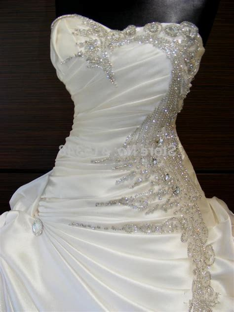 strapless wedding dresses with rhinestones naf dresses