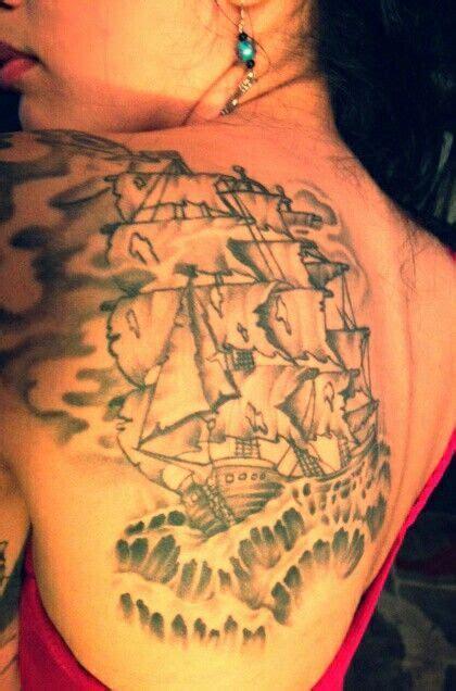 blackbeard tattoo blackbeard s pirate ship my tattoos
