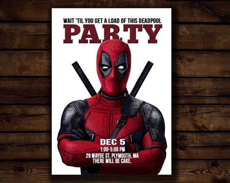 printable deadpool bookmarks 17 best images about deadpool party on pinterest