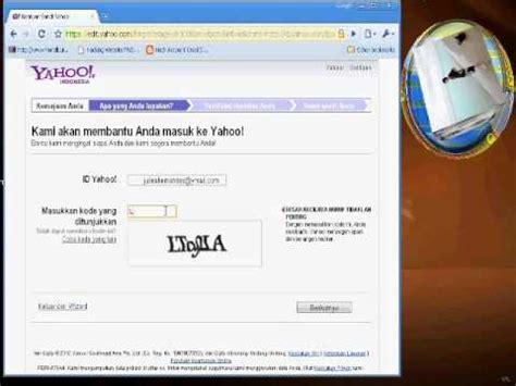tutorial hack akun yahoo cara mengembalikan akun yahoo yang terkena hack youtube