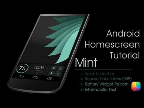 tutorial homescreen android mint matt mcdowell android homescreen tutorial youtube