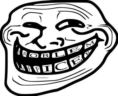 Troll Face Know Your Meme - image 245017 trollface coolface problem know