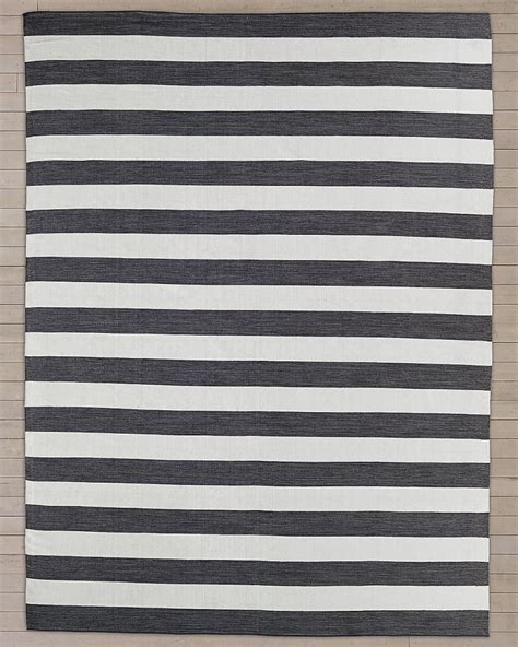 10 Outdoor Rugs That Bring Summer Style Home Striped Outdoor Rugs