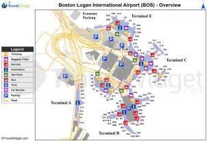 Boston Terminal Map by Boston Logan Airport Map Map Of Boston Airport United