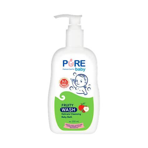 Sabun Wash jual baby wash 2in1 fruity sabun bayi 230 ml