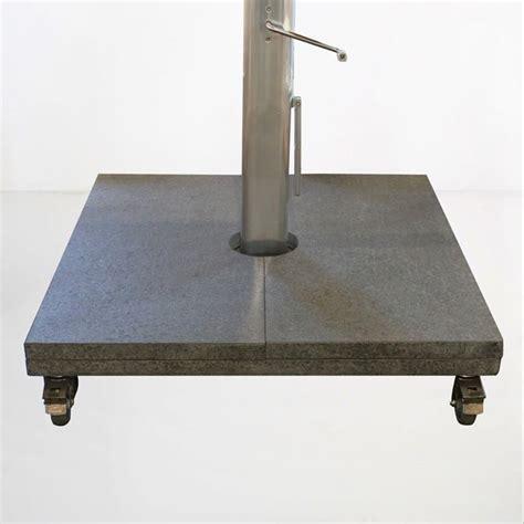 kingston cantilever patio umbrella base granite design