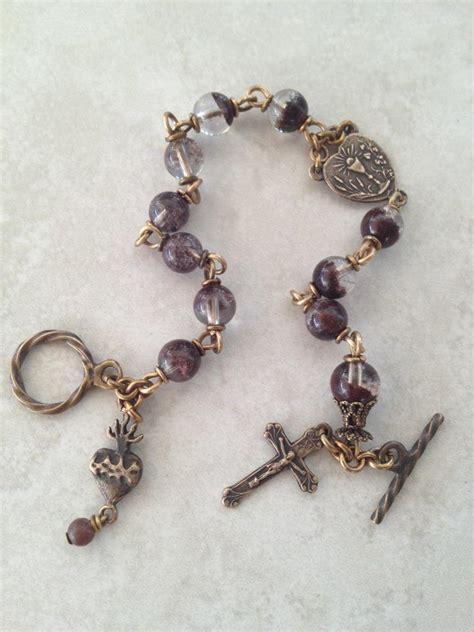 rosary bead bracelet all beautiful catholic precious blood rosary