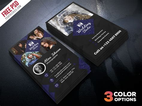photography business card template psd file photographer business card template psd set psdfreebies
