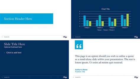Presentation Ucsf Brand Identity Ucsf Powerpoint Template