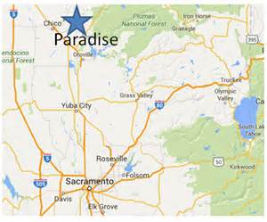 map of paradise ca area pictures to pin on