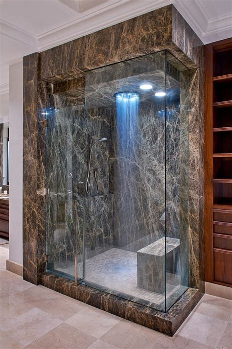 Shower Doors Oklahoma City Looking Overhead Shower Bathroom Contemporary