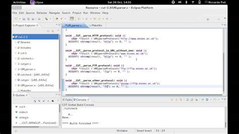 tutorial c unit test test driven development tdd in c using eclipse and cut