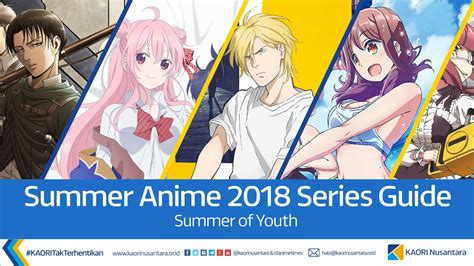 Anime 2018 Summer by Kaori Nusantara Anime Preview Guide Summer 2018 The