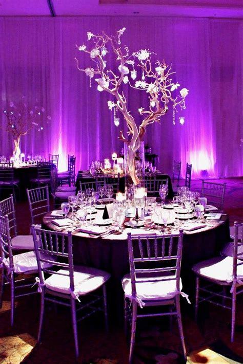 color inspiration purple wedding ideas   regal event