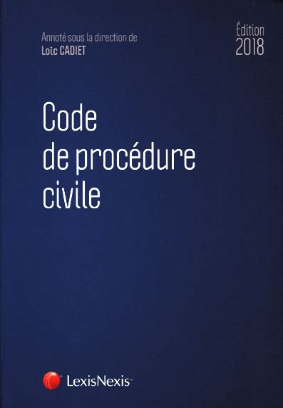 louisiana code of civil procedure 2018 ed books ld lit045 code de proc 201 dure civile 2018 tissot