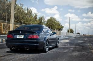 taking a look back with a bmw e46 m3 on custom wheels
