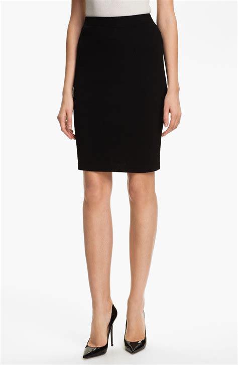 knit skirt st collection santana knit skirt in black caviar