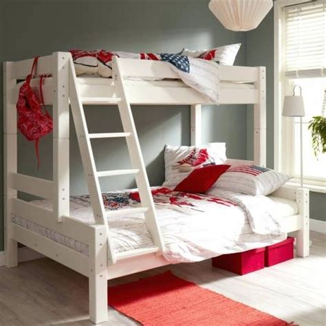 3 Way Bedroom Ls by Stunning Bedroom Three Level Bunk Bed Three Person Bunk