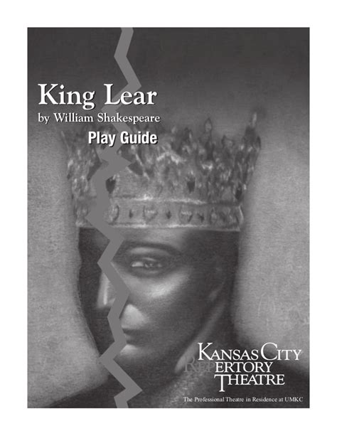 king lear themes slideshare king lear play guide