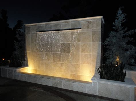 water walls for homes architectural cast water