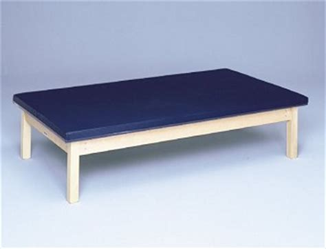 physical therapy elevated exercise padded mat mat table physical therapy equipment discounts pt