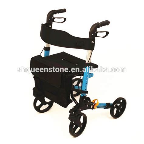 Compact Sit Shopping Cart by Lightweight Compact Aluminium Four Wheel Disabled Rollator