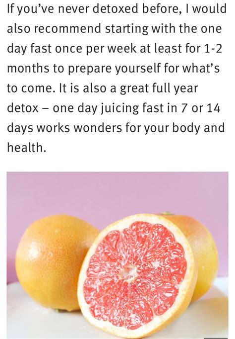 How To Detox My In One Day by The One Day Detox Musely