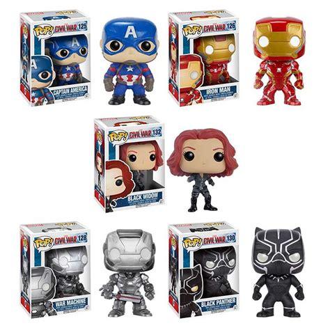 Original Funko Pop Marvel Captain America With Photon Shield 159 funko pop captain america civil war 1 filmfad