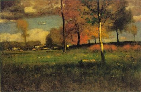 Landscape Artist George Crossword It S About Time American Landscape Painter George Inness
