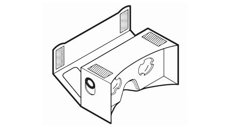 Google Cardboard Is A Placeholder 6 000 Kits And 50 000 App Downloads In First Week Vr Cardboard Template