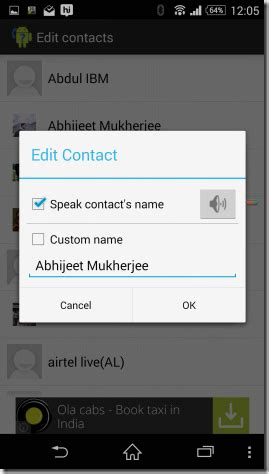 how to make your number on android how to make your android announce caller s name or number techgrade