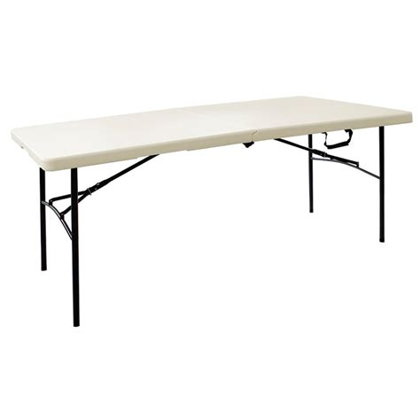 8 folding table home depot hdx earth folding table ta3072fx06 the home depot