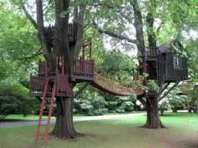 Backyard Treehouse 30 Tree Perch And Lookout Deck Ideas Adding Diy