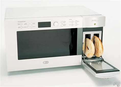Microwave With Toaster Built In Lg Ltm9000st 0 9 Cu Ft Combination Microwave Oven And