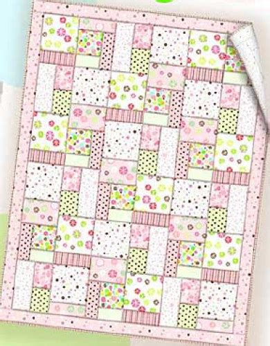 Baby Quilt Free Pattern by Essential Flannel Baby Quilt Free Pdf Pattern The Self
