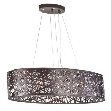 Oval Pendant Light Inca Bronze Pendant Light With Oval Shade E21310 10bz Destination Lighting