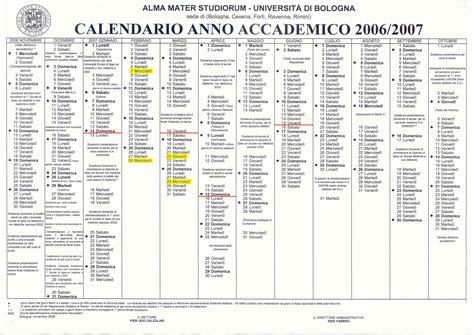 Calendario Didattico Ingegneria Unibo Prof D Galli A A 2006 2007