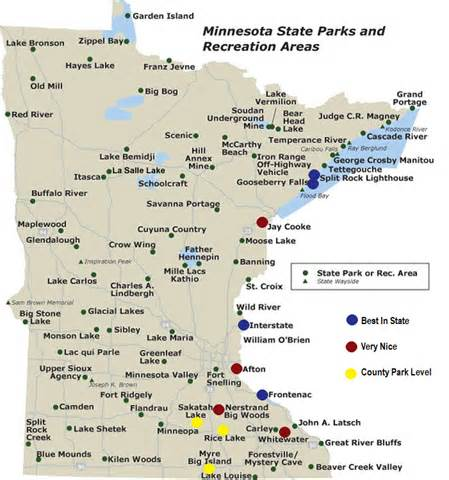 Minnesota State Park Map minnesota state parks map related keywords amp suggestions