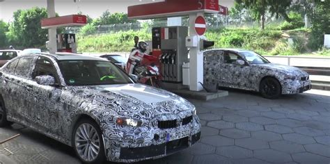 Test Bmw 3 Series 2019 by 2019 Bmw 3 Series Prototypes Spotted At Gas Station Before