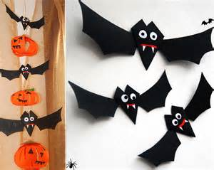 Paper Halloween Decorations Homemade Easy Diy Halloween Home Decor Ideas With Ghosts Bats And
